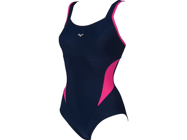 arena Makimurax Low C Cup One Piece Swimsuit Dam navy/rose violet